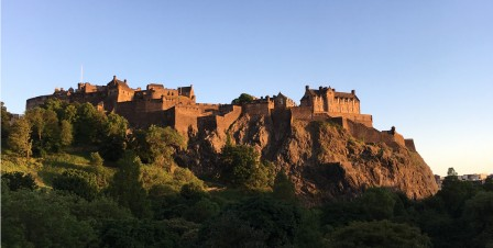 Edinburgh Castle by Sunset